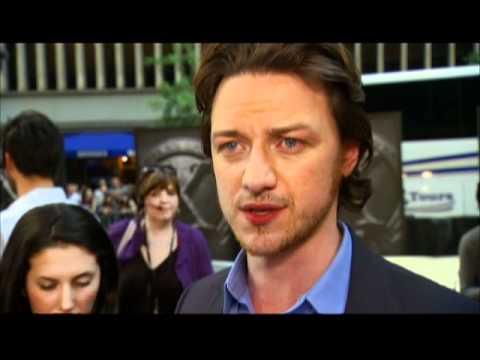 'X-Men: First Class' premiere clip #1: James McAvoy