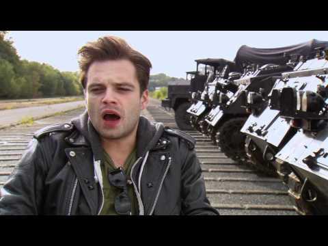 Sebastian Stan on his role in 'Captain America'