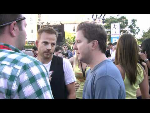 'Bucky Larson' interview at Playboy Party