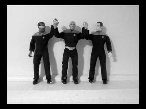 star trek captain picard single ladies video