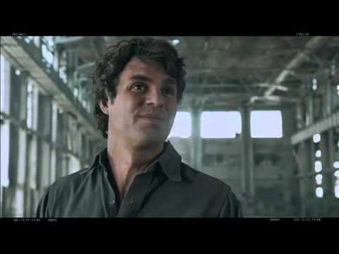 THE AVENGERS Deleted Scene Featuring Bruce Banner Post Hulking-Out