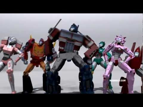 Transformers - GANGNAM STYLE