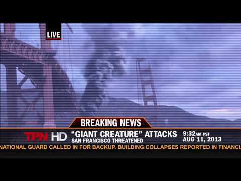 BREAKING NEWS: KAIJU ATTACK