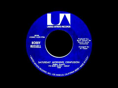 Bobby Russell - Saturday Morning Confusion (Original UA Stereo Mix - HD CD Quality - 1971)