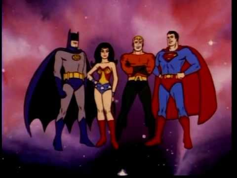 ALL of the SUPERFRIENDS opening Theme songs from 1973 - 1985