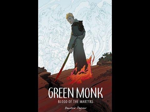Green Monk: Blood of the Martyrs by Brandon Dayton Comic Video Trailer   Image Comics
