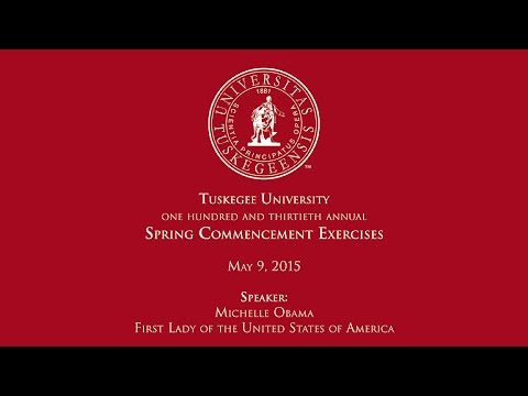 First Lady Michelle Obama Commencement Speech