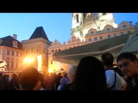 Looking for ICANN Fellows in Prague Old Town Square, Italy v Germany, June 28, 2012
