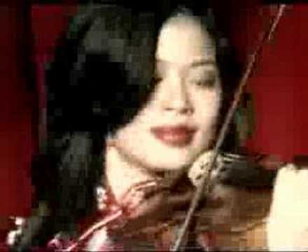 Vanessa Mae - Red Hot Music Video