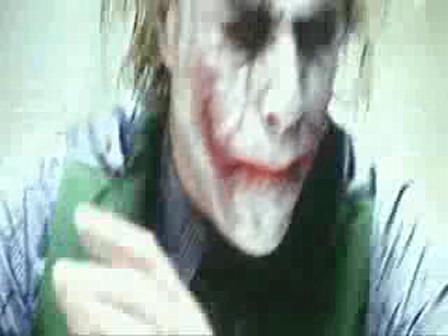 Interrogatorio de batman al joker
