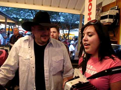Crystal Garcia Sings with Texmaniacs