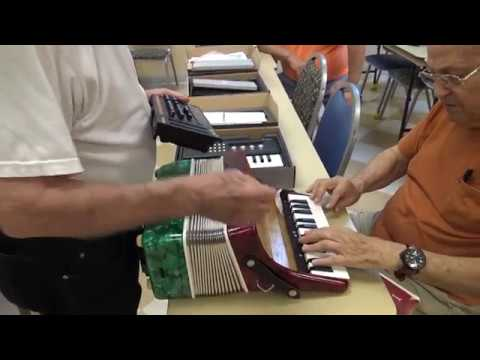 Hacking a Roland accordion - part 1 - using Roland JX-04 and K-25M - tech4seniors