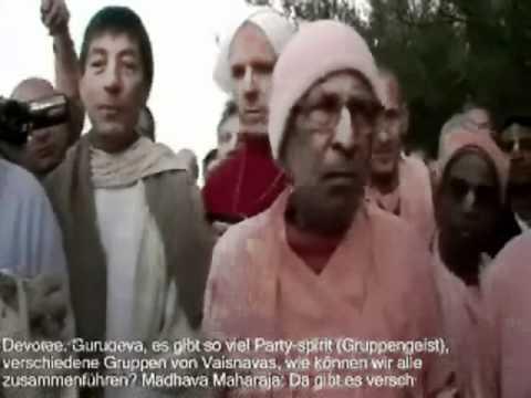 Srila Narayana Maharaja comments on party spirit