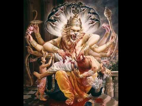Lakshmi Narasimha Karavalamba Stotram - Narsimha Mantra