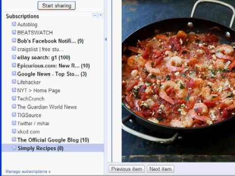 What's RSS and Google Reader