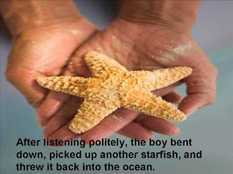 Starfish: An inspirational video for all teachers