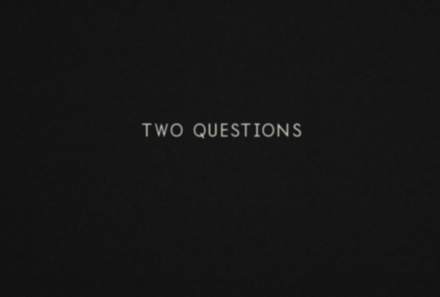 Two questions that can change your life