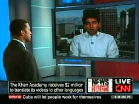 CNN:  Google Award to Khan Academy