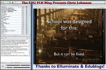 Chris Lehmann Live Chat