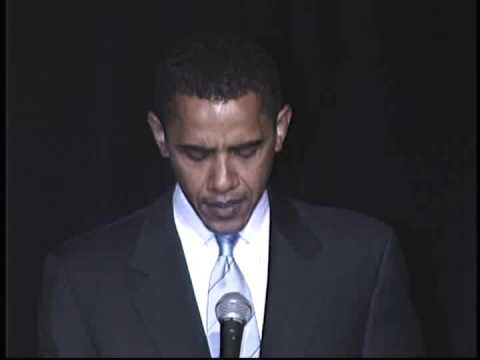 Barack Obama Speaks about Facing History and Ourselves