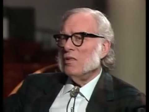 Isaac Asimov on Bill Moyers World of Ideas pt 1