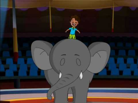 "Kids Song - ""Elephant Steps"" Elephant Song for Children by Patty Shukla"