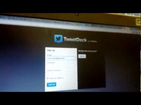 How to add Tweetdeck to Chrome