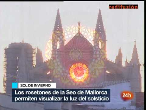 La Seu de Mallorca - Solstici al Telediario 1