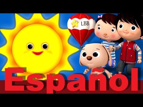 Oh Señor Sol, Sol, Amarillo Sol | LittleBabyBum canciones infantiles HD 3D