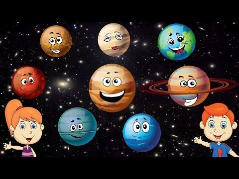 Canción de los planetas para niños
