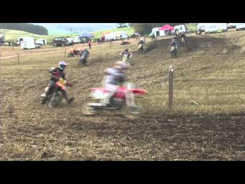 Scottish Twinshock Glenfarg 2013 Evo 125's and Fourstrokes Race 1