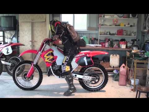 Honda cr125 Start up 1994 model