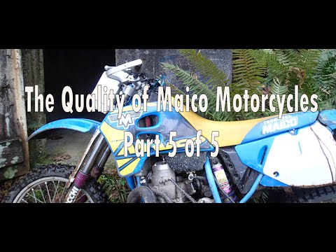 The Quality of Maico Motorcycles Part 5 of 5 (Documentary)