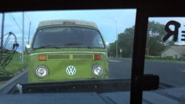 Getting my VW bus Home