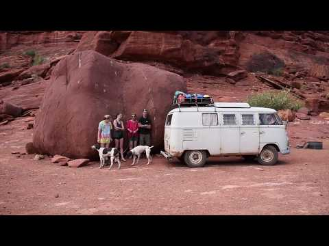 1967 Split Window VW Bus - 4,000 Summer Road Trip with Family