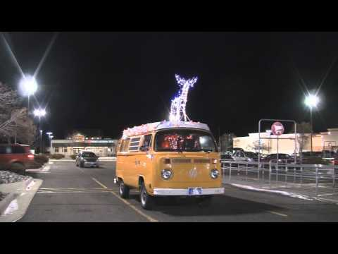 Santa's VW Bus v  The Fuzz