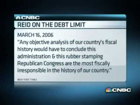 Rick Santelli: Debt Ceiling and Hypocrisy