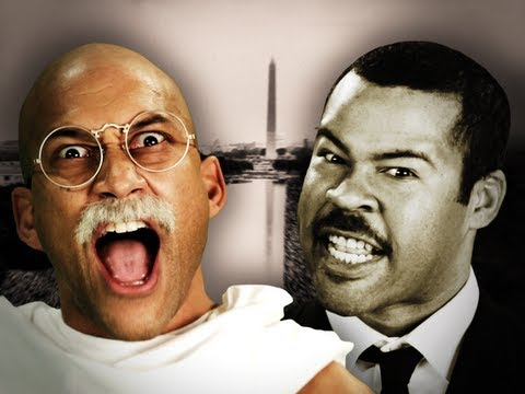 Gandhi vs Martin Luther King Jr. Epic Rap Battles of History. (Subtítulos en Español)