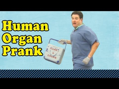 Prank Bank: Organ Donor Prank
