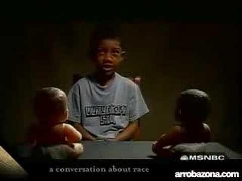 Teste do Racismo em Crianças - ArrobaZona.COM