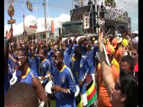 OLODUM BOLA NA REDE - WORLD CUP FOOTBALL SOUTH AFRICA 2010