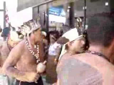 Protesto de Índios 1 - Salvador