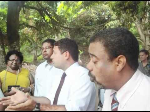 Audiencia Publica da Comunidade Quilombo Rio dos Macacos com a Secretária Geral da Presidencia