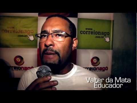 LANÇAMENTO CORREIO NAGÔ - ENTREVISTAS - GILMAR SANTIAGO E VALTER DA MATA