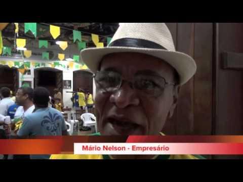 Está tendo Copa - Torcida Olodum em Salvador