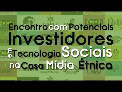 Encontro com Investidores no Instituto Mídia Etnica.
