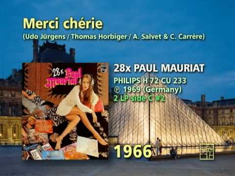 Paul Mauriat - Merci, chérie (1966)