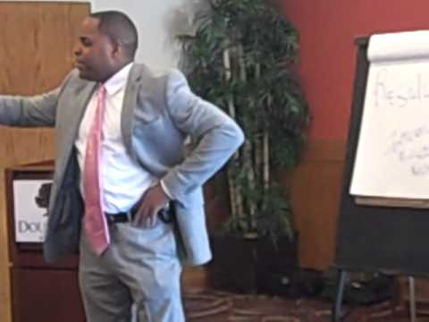 Tryrone Jackson Teaches Wealth Concepts