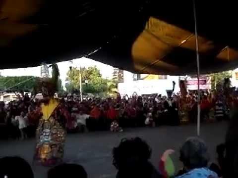 Concurso de chinelos en Cuautlixco 2012