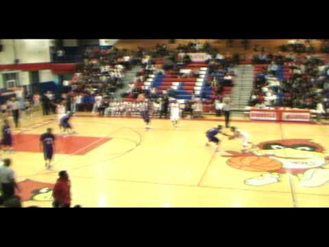 The Dunk .........Corieon Pearson alley oop to Kris Brewer